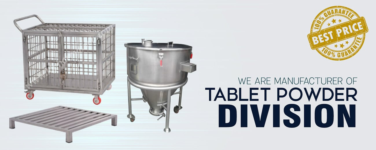 Tablet Powder Division manufacturer in Ahmedabad